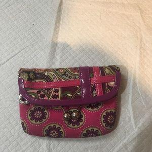 Vera Bradley large coin purse